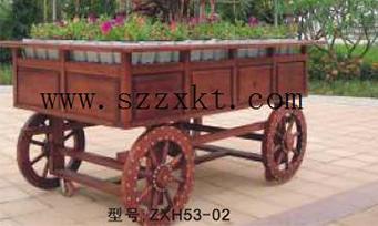 景观摆花种花花车ZXH53-02