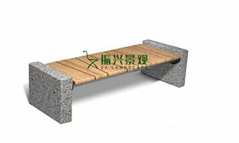 钢木无靠背休闲椅ZXY22-33