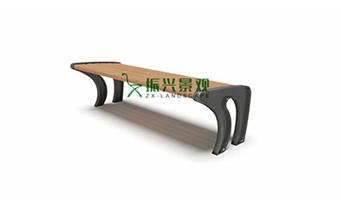 钢木无靠背休闲椅ZXY22-31