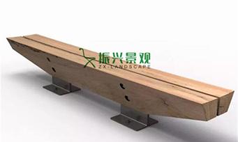 钢木无靠背休闲椅ZXY22-29