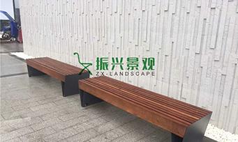钢木无靠背休闲椅ZXY22-26