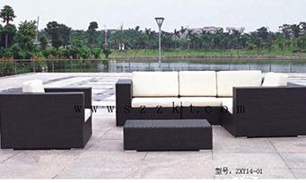 藤制套桌椅ZXY14-01