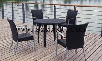 藤制套桌椅ZXY13-03