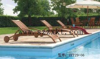 实木沙滩躺椅ZXY29-06