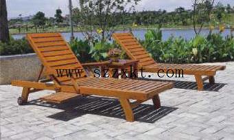 实木沙滩躺椅ZXY29-04