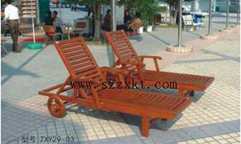 实木沙滩躺椅ZXY29-03