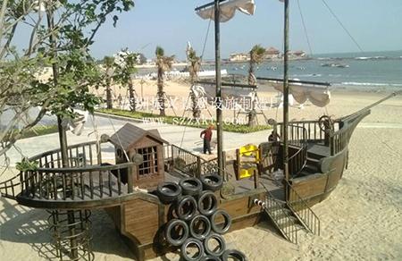 厦门沙滩海盗船