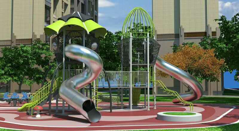 游樂設施-滑梯