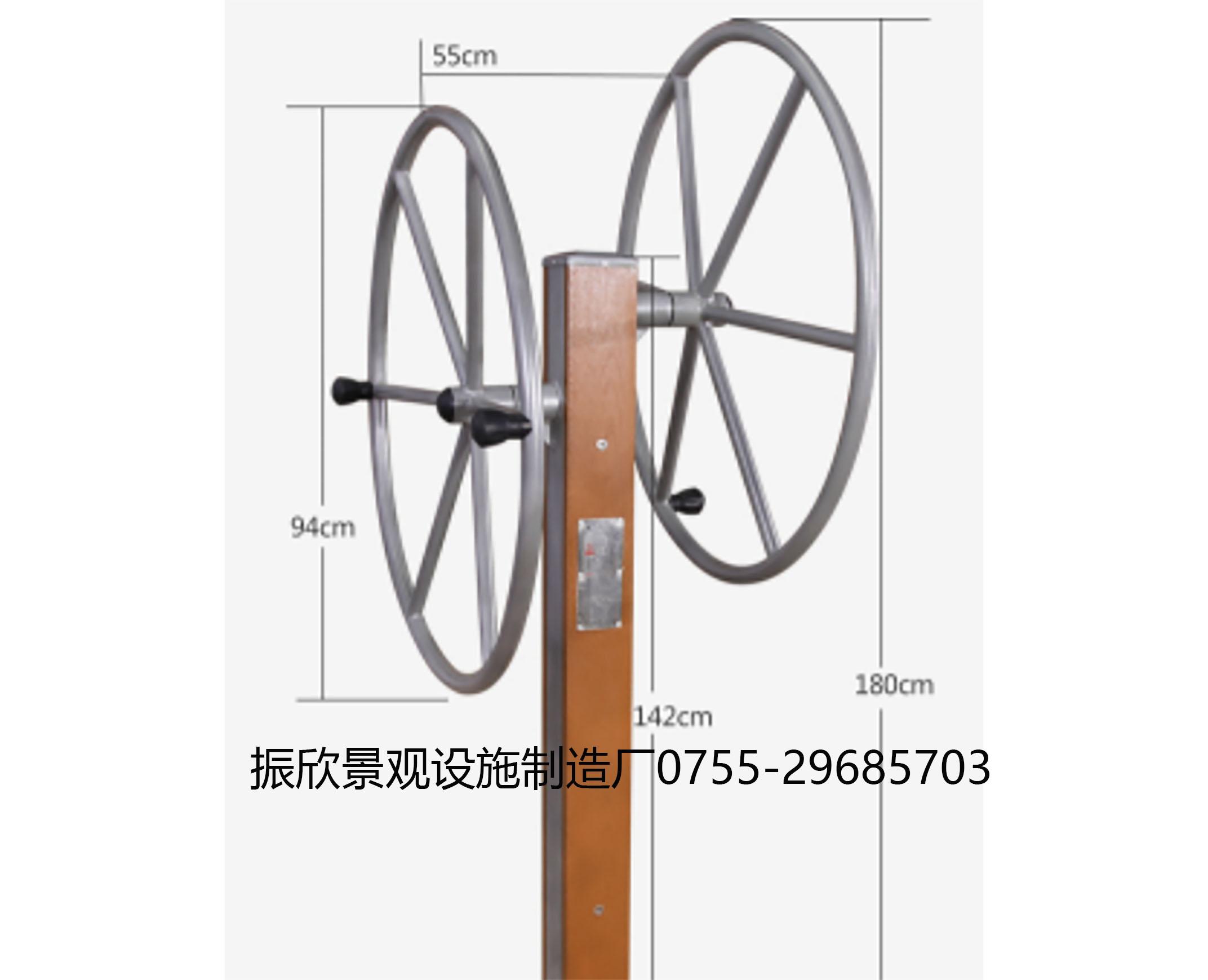 雙人大轉輪(lun)健(jian)身器