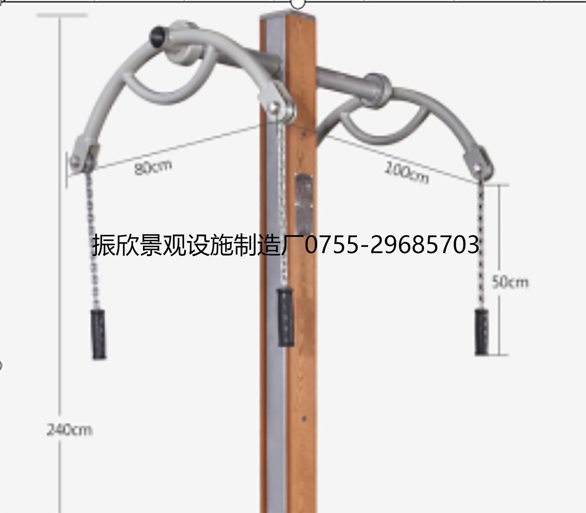 雙人牽引器健(jian)身器